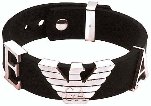 emporio armani schmuck h eg1790 19 armband zeichen der zeit. Black Bedroom Furniture Sets. Home Design Ideas