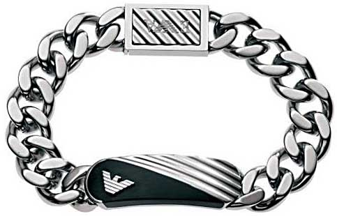 buy best great quality super cheap emporio armani schmuck H EGS1095 armband | Zeichen der Zeit