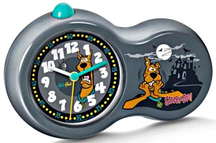 flik flak wecker alarm clock scooby doo fac29 zeichen. Black Bedroom Furniture Sets. Home Design Ideas