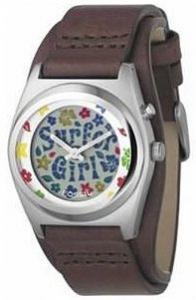 Fossil Leder Damen Armbanduhr Jr1290